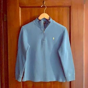 Ralph Lauren Polo boys 1/4 zip sweater